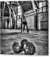 The Gym Canvas Print