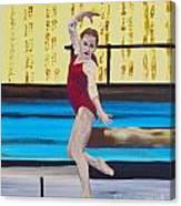 The Gymnast Canvas Print