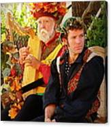 The Gypsy And The Minstrel Canvas Print
