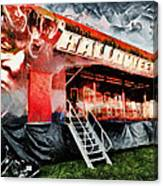 The Halloween Ride Canvas Print