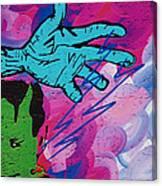 The Hand Of Frankenstein Canvas Print