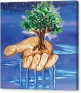 The Hand Of The Lord Canvas Print