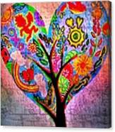 The Happy Tree Canvas Print