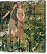 The Happy Valley, 1898 Canvas Print