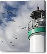 The Harbor Lighthouse Canvas Print