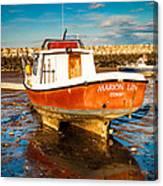 The Harbour Canvas Print