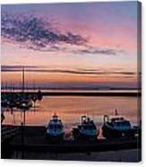 The Harbour Lights Canvas Print