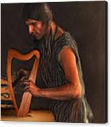 The Harp Maker Canvas Print