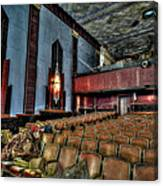 The Haunted Cole Theater Canvas Print