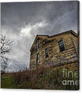 The Haunted Color Canvas Print