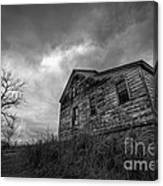 The Haunted Canvas Print