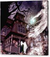 The Haunting Of Blackthorne Manor  Canvas Print