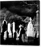 The Haunting Shadows Canvas Print