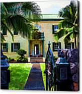 The Hawaiian Palace Canvas Print