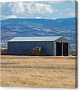 The Hay Shed Canvas Print