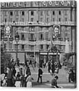 The Headquarters Of The Psuc Catalan Canvas Print