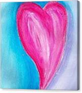 The Heart Is Canvas Print