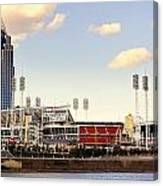 The Heart Of Cincinnati  Canvas Print