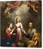 The Heavenly And Earthly Trinities Canvas Print