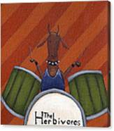 The Herbivores Canvas Print