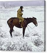 The Herd Boy Canvas Print