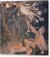 The Hero Of This Russian Folk- Tale Canvas Print