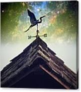 The Heron Vane Canvas Print