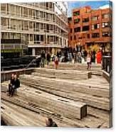 The High Line Urban Park New York Citiy Canvas Print