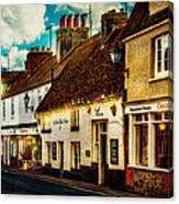 The High Street Canvas Print