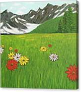 The Hills Are Alive With The Sound Of Music Canvas Print