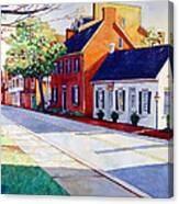 The Historic District Canvas Print