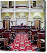 The Historic House Chamber Of Maryland Canvas Print