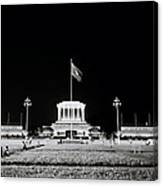The Ho Chi Minh Mausoleum In Hanoi Canvas Print