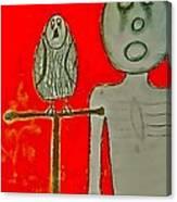 The Hollow Men 88 - Bird Canvas Print