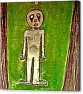The Hollow Men 88 - Lone Idea Canvas Print