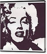 The Hollywood Goddess Canvas Print