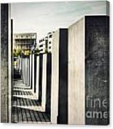The Holocaust Memorial Berlin Germany Canvas Print