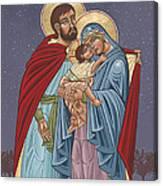 The Holy Family For The Holy Family Hospital Of Bethlehem Canvas Print