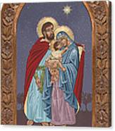 The Holy Family For The Holy Family Hospital Of Bethlehem With Frame Canvas Print
