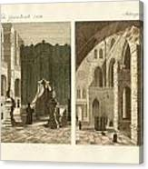 The Holy Sepulcher Of Jerusalem Canvas Print