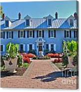 The Homestead Birthplace Of Milton Hershey Canvas Print