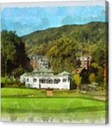 The Homestead Country Club Canvas Print
