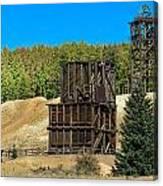 The Hoosier Mine Canvas Print