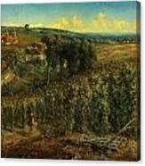 The Hop-gardens Of England Canvas Print