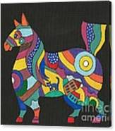 The Horse Of Good Fortune Canvas Print