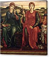 The Hours, 1870-82 Canvas Print