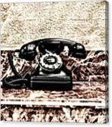 The House Phone Canvas Print