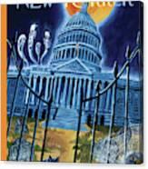 The House Republicans Haunt The Captiol Building Canvas Print