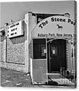 The House That Bruce Built - The Stone Pony Canvas Print