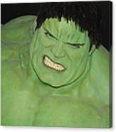 The Hulk Canvas Print